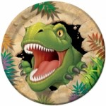 DINOSAUR PARTY PLATES